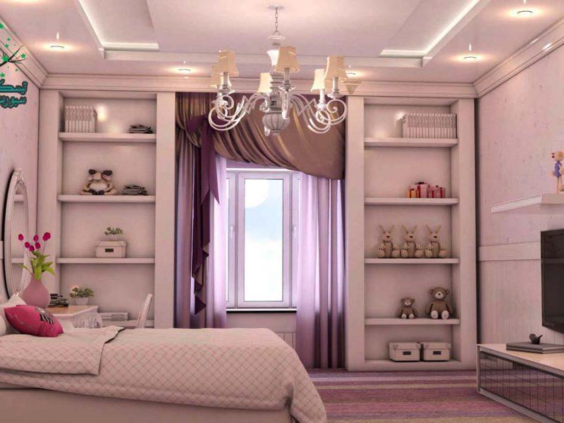 أفكار غرفة بنات و6 ألوان للإختيار ما بينهم
