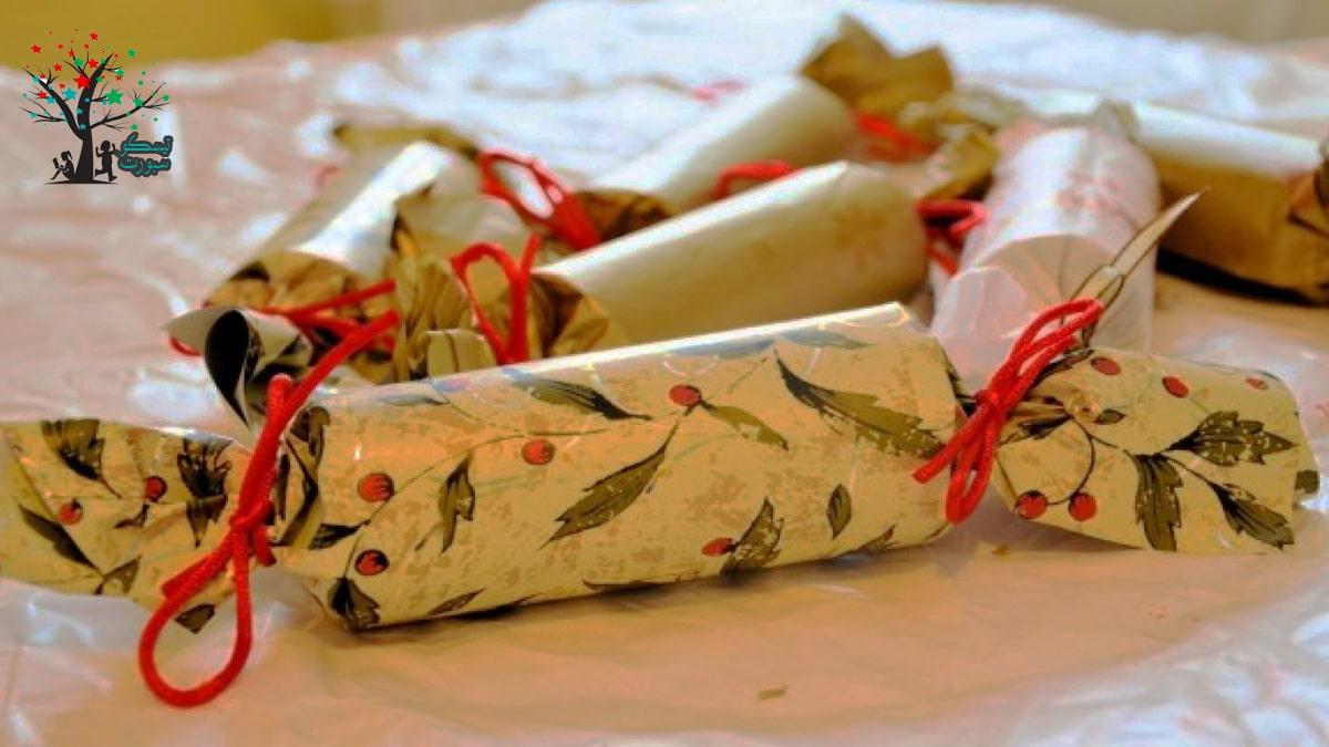 أكياس هدايا مصنوعة بشكل يدوي