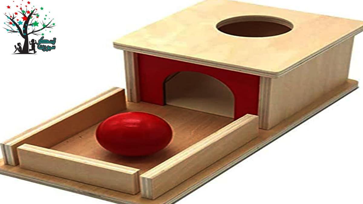 عبة الكرة والصندوق لعبة عائلية
