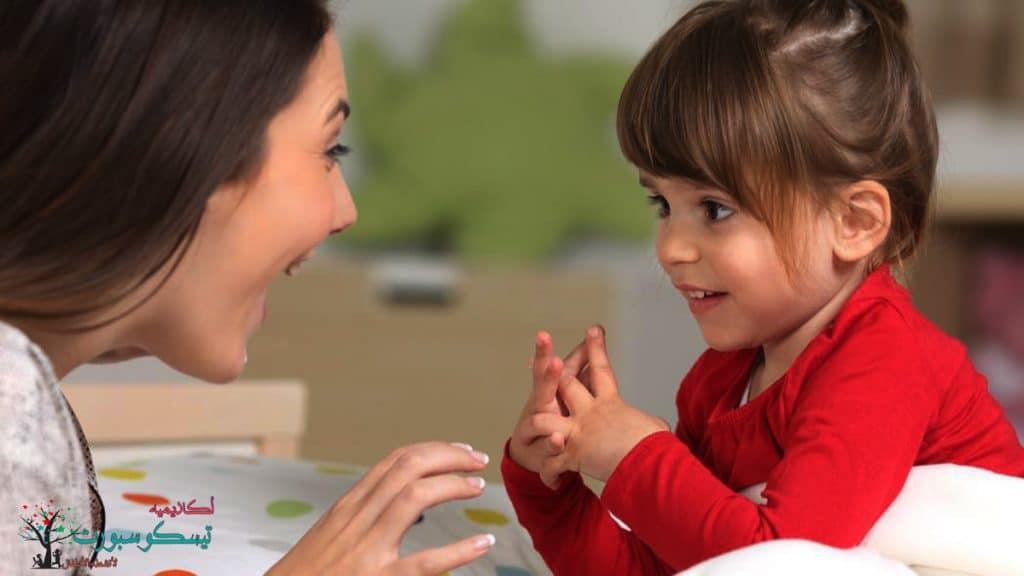 إرشادات تعلم النطق للاطفال سنتين