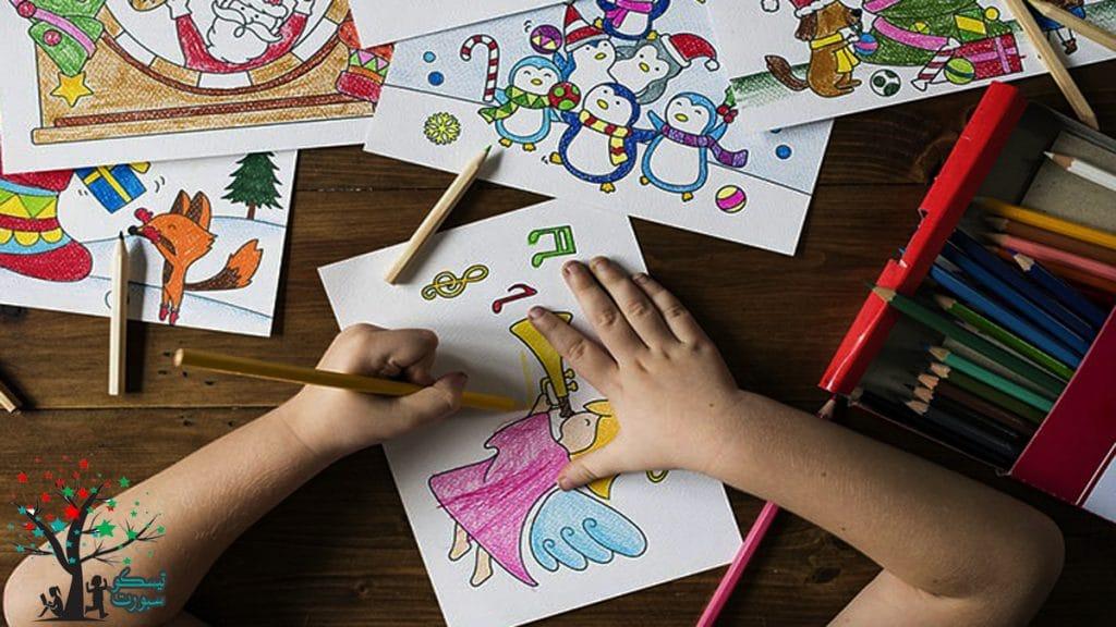 إرشادات تعليم الرسم للاطفال