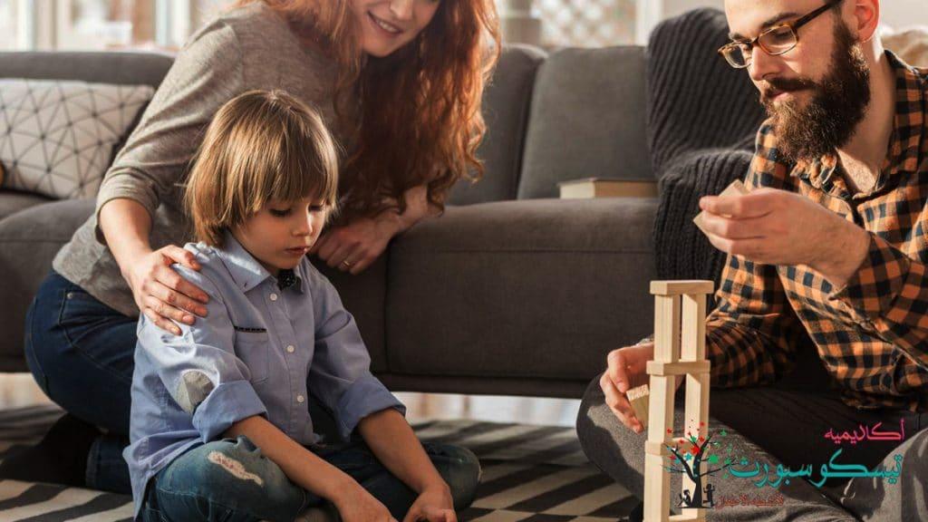 الأنماط المتبعة في تربية الأطفال