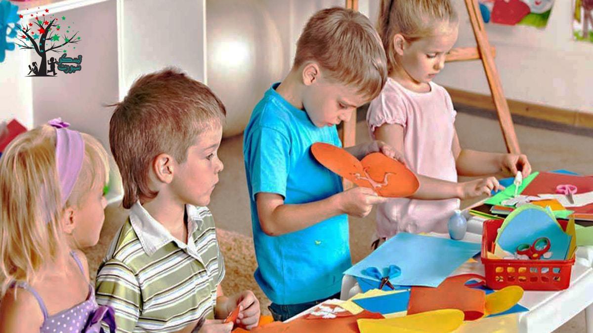 برنامج روضة الأطفال في المنزل