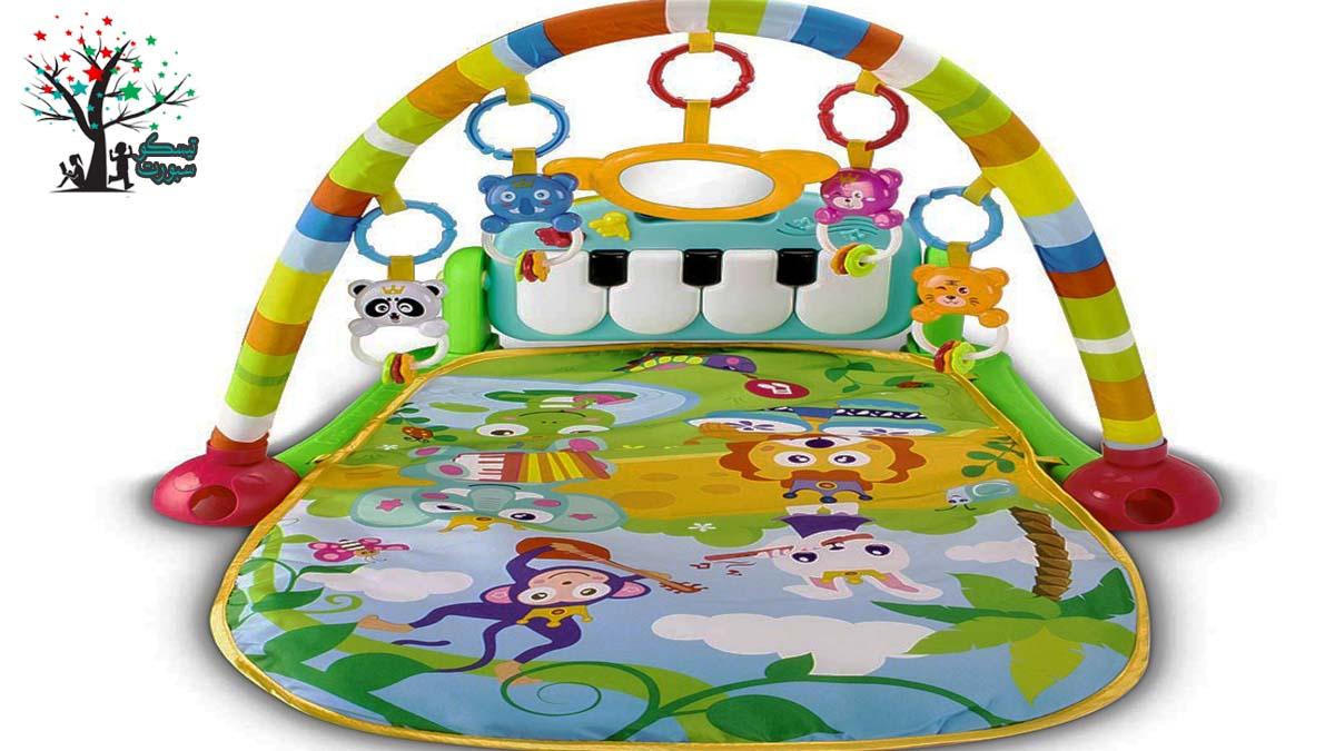 بساط اللعب من لعبة الاطفال الرضع