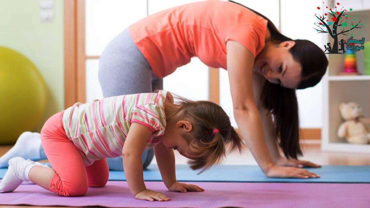 تطبيقات ممارسة الرياضة والتمارين في المنزل للطفل