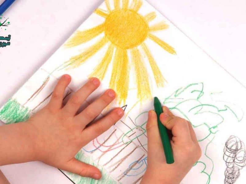 تعليم الرسم للاطفال و 3 قواعد للتعلم