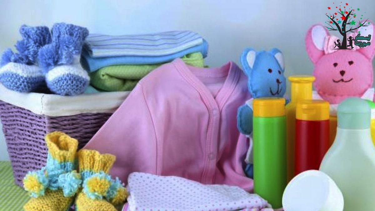 قائمة استخدامات المولود الجديد من ملابس ومفارش