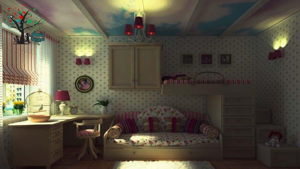 كيفية تصميم غرفة بنات