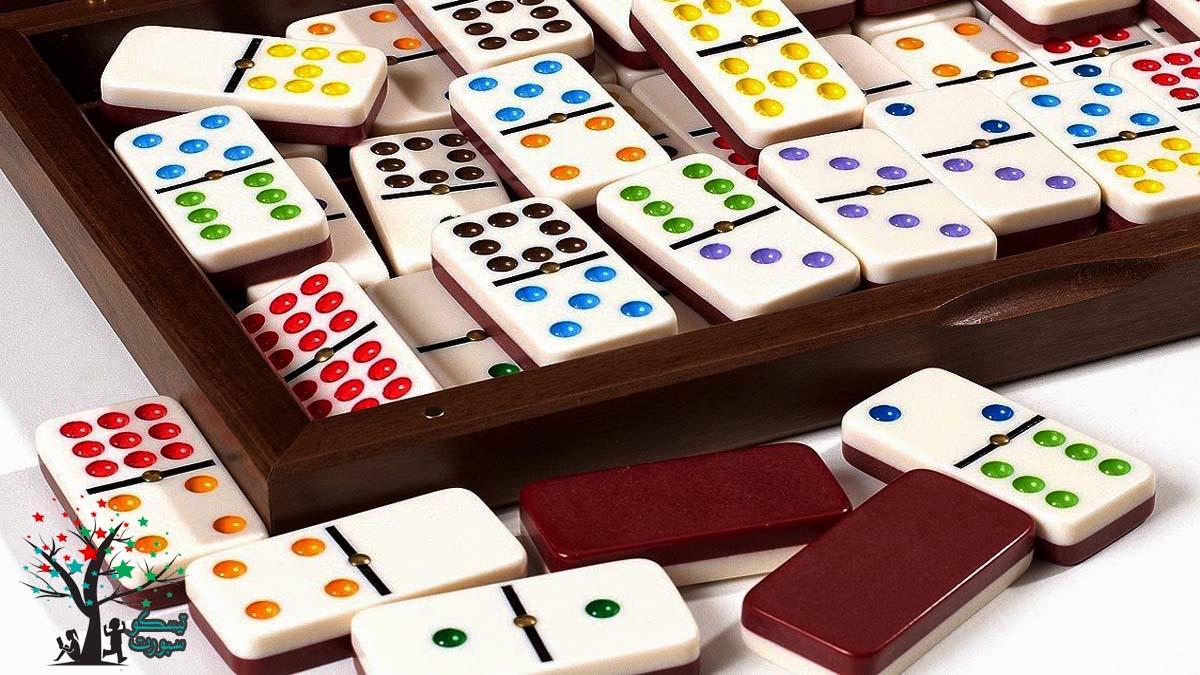لعبة الدومينو من ألعاب نقدر نلعبها في البيت لشخصين