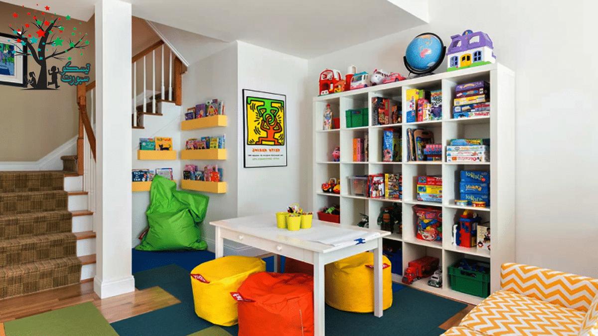 مساحة غرفة العاب اطفال