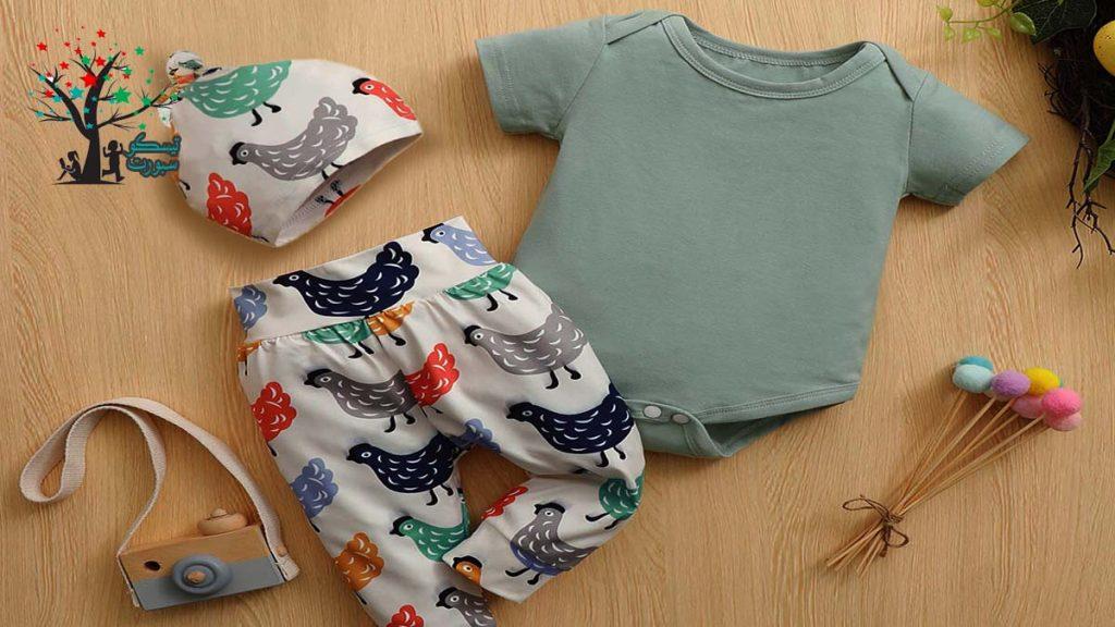 ملابس الأطفال حديثي الولادة