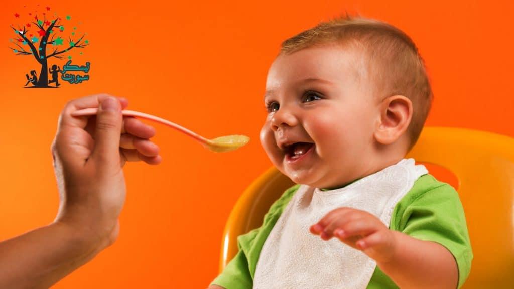 نصائح لإطعام طفلك اكل صحي للاطفال