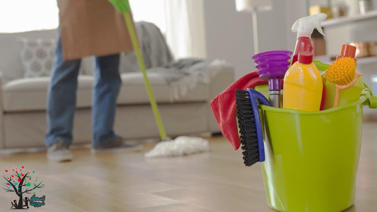 نصائح هامة في تعليم الأطفال تنظيف البيت