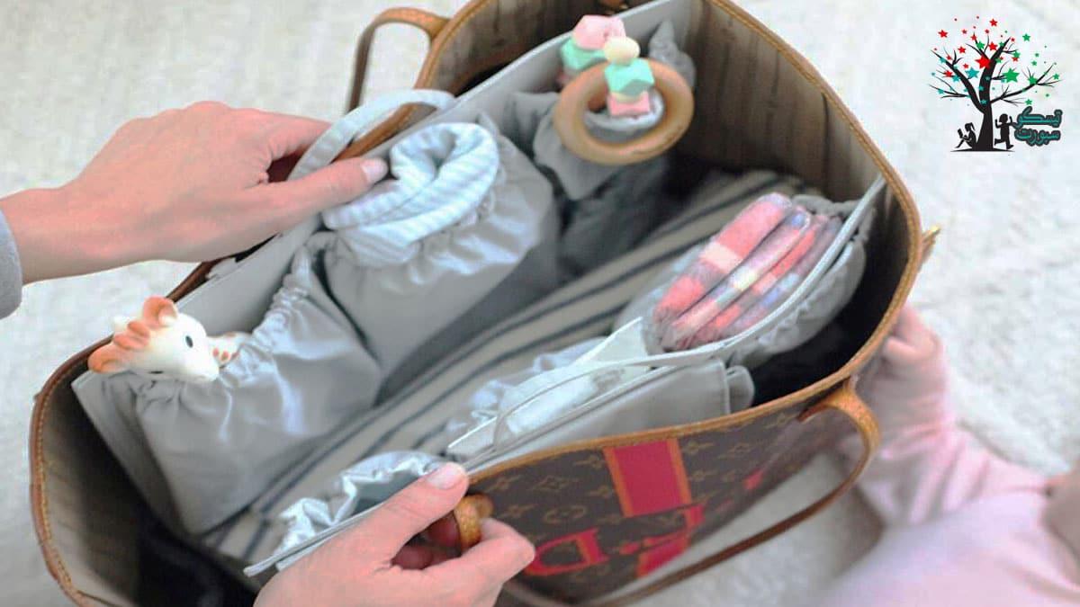 أشياء ضرورية في حقيبة طفلك