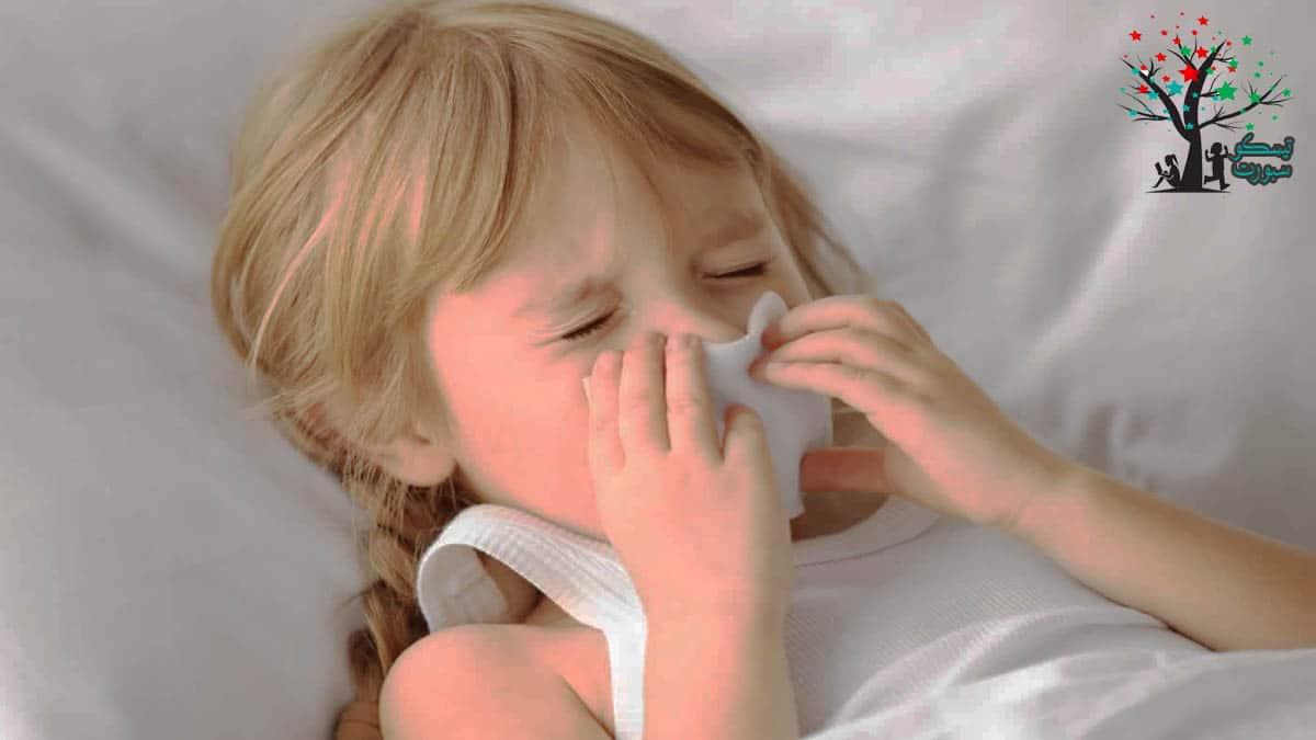 أعراض الإصابة بحساسية الأطفال
