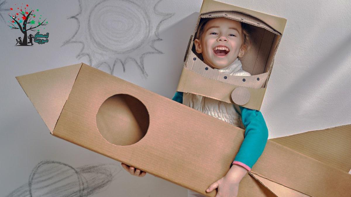 التمثيل خيال الطفل