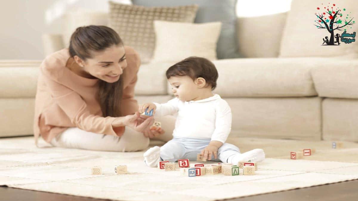 تعزيز تطور الطفل