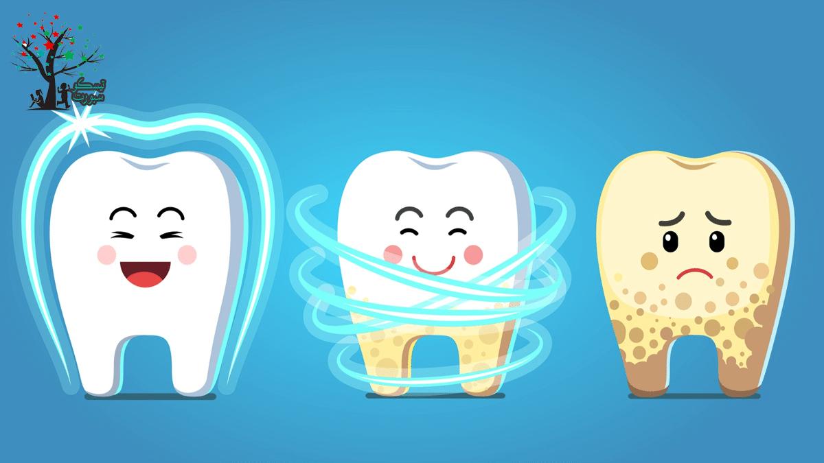 خطوات تنظيف الاسنان للاطفال