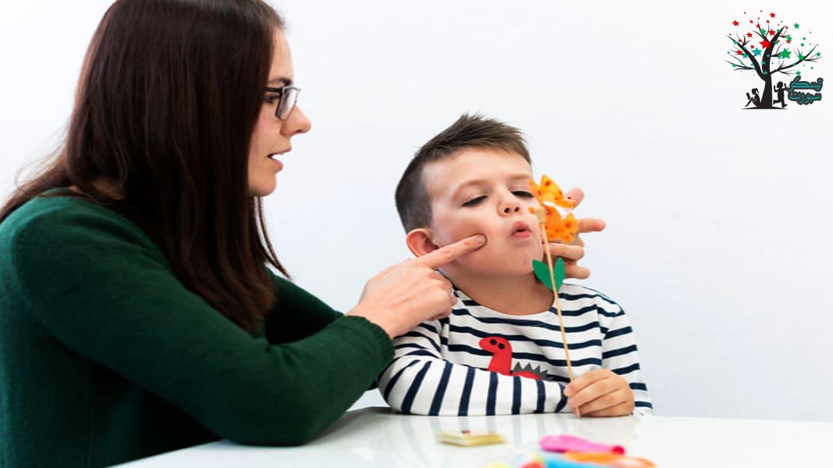 علاج تأخر النطق عند الاطفال