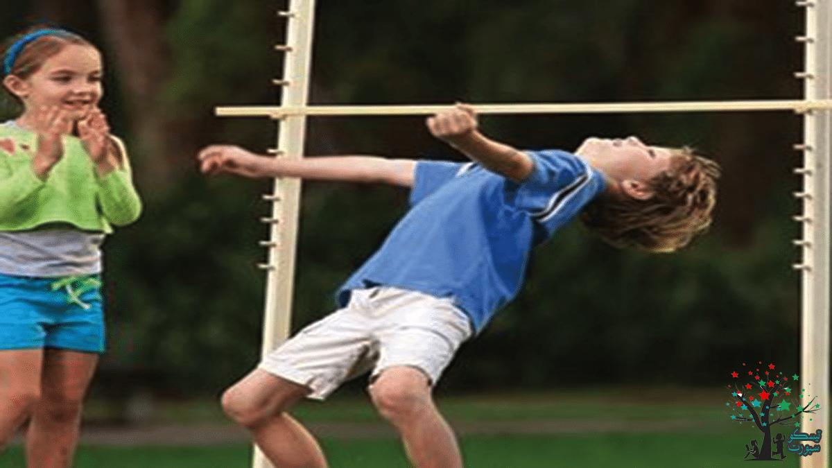 لعبة الحاجز ومسابقة حركية للأطفال