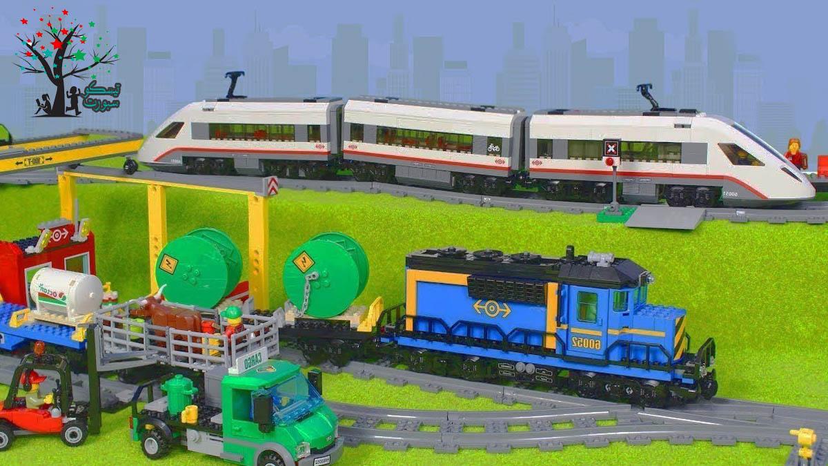 لعبة قطار ليجو