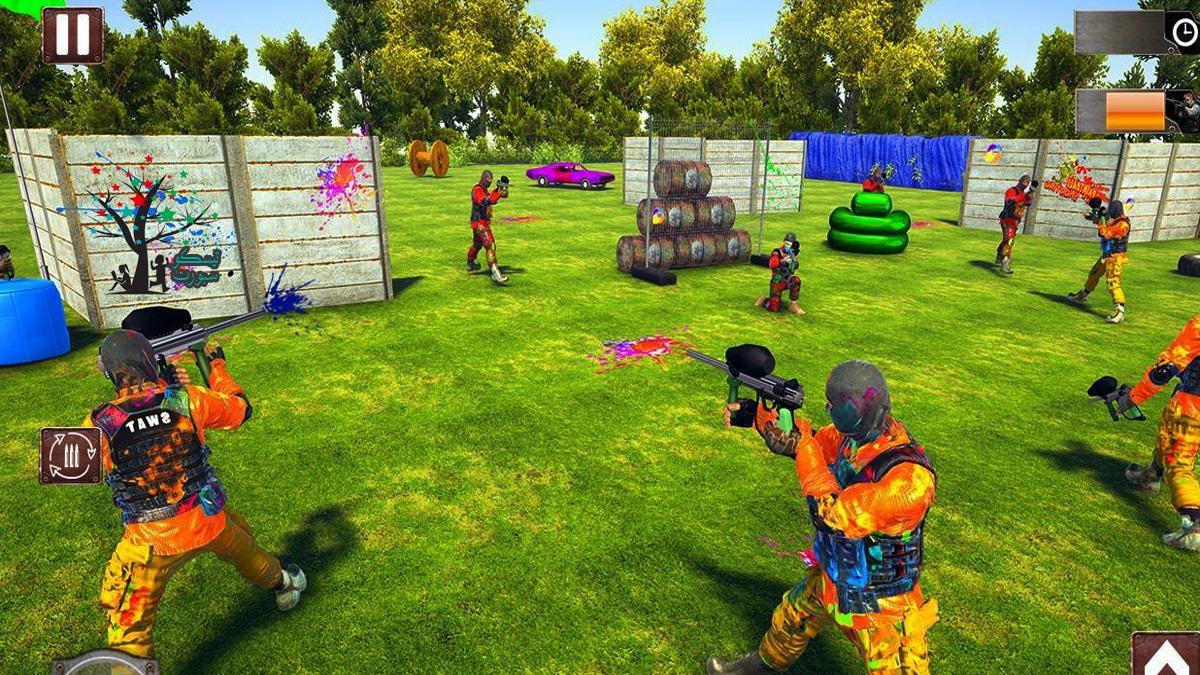 لعبة Paintball war