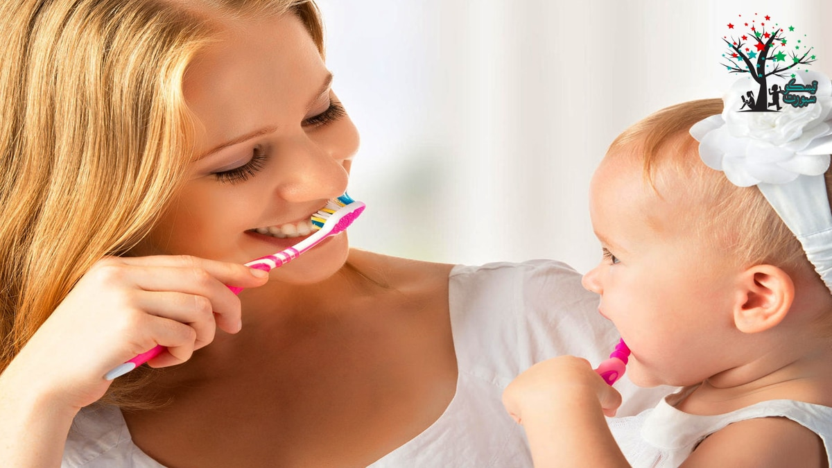 متى نبدأ في غسيل الأسنان للأطفال