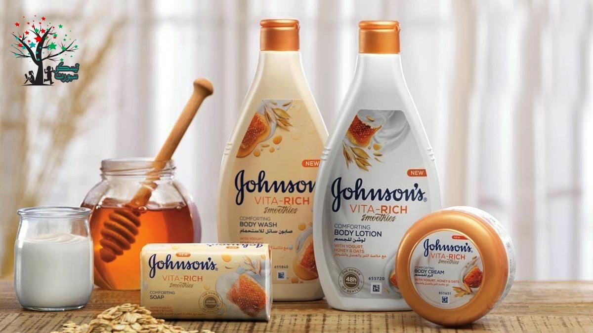 منتجات شركة جونسون للأطفال