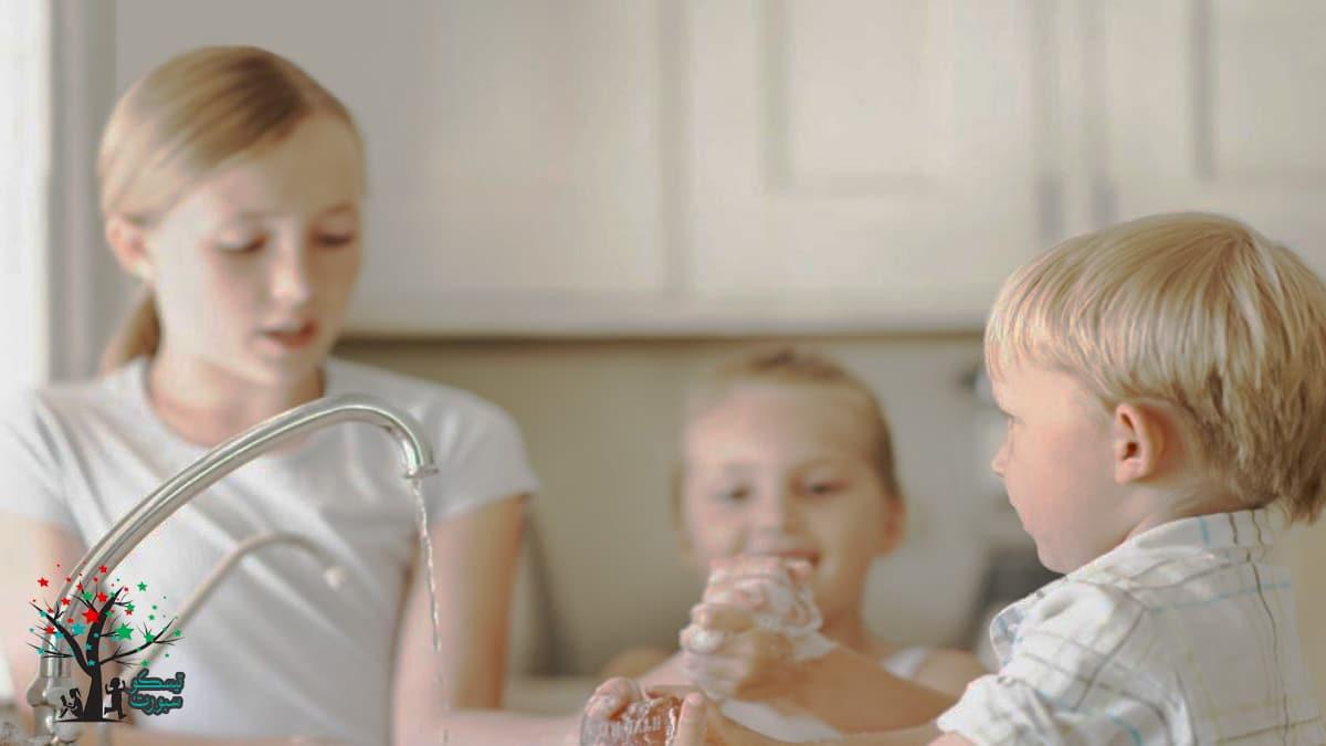 نصائح النظافة الشخصية للاطفال