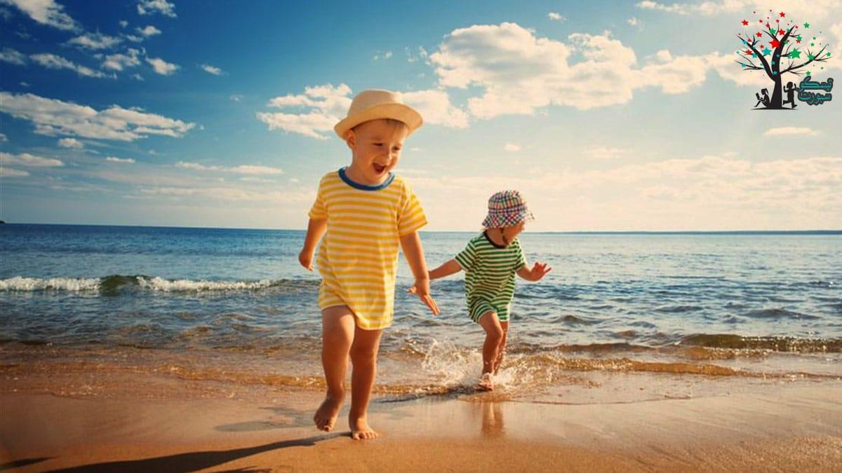 نصائح لحماية بشرة الأطفال من التعرض لأشعة الشمس