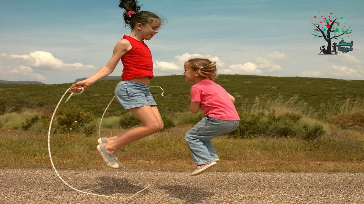نط الحبل ومسابقات للاطفال حركية