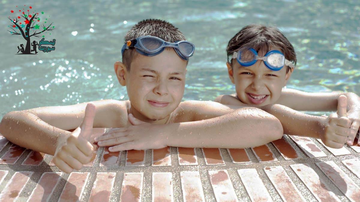 نظارة البحر من ادوات سباحة اطفال