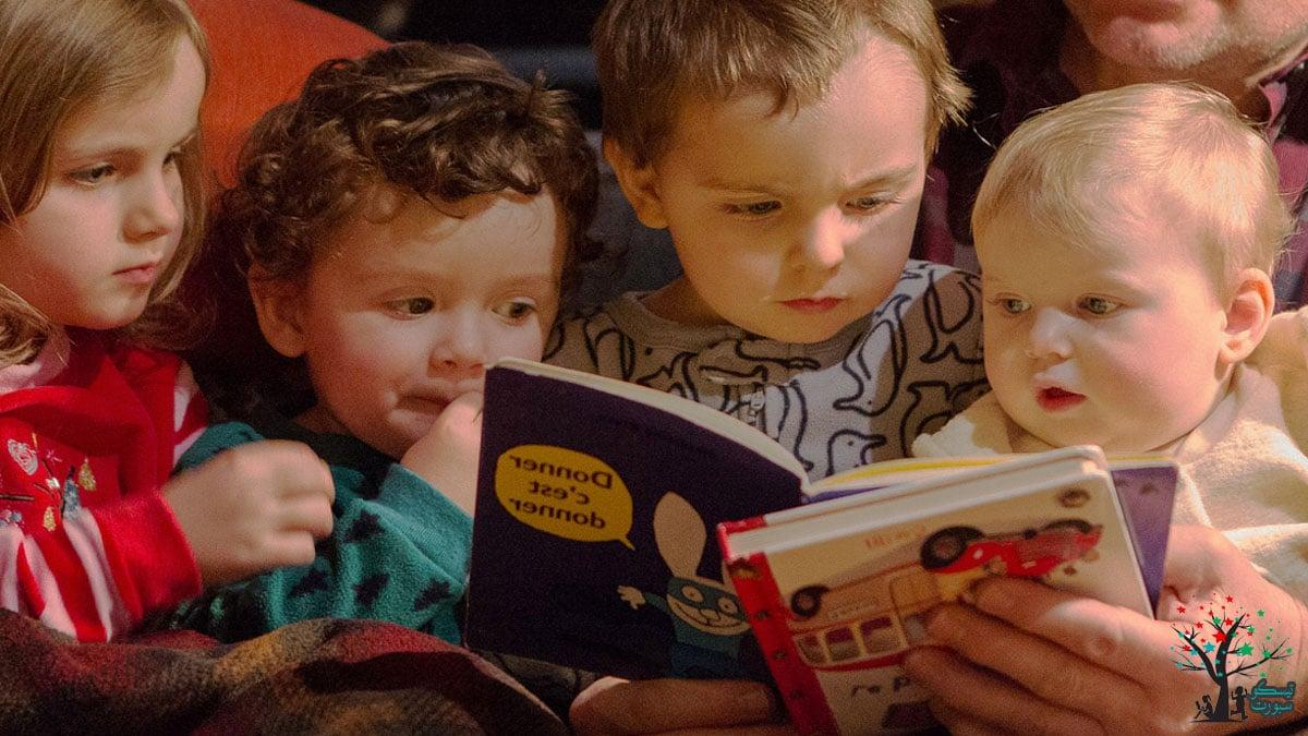 وقت سرد القصص للأطفال