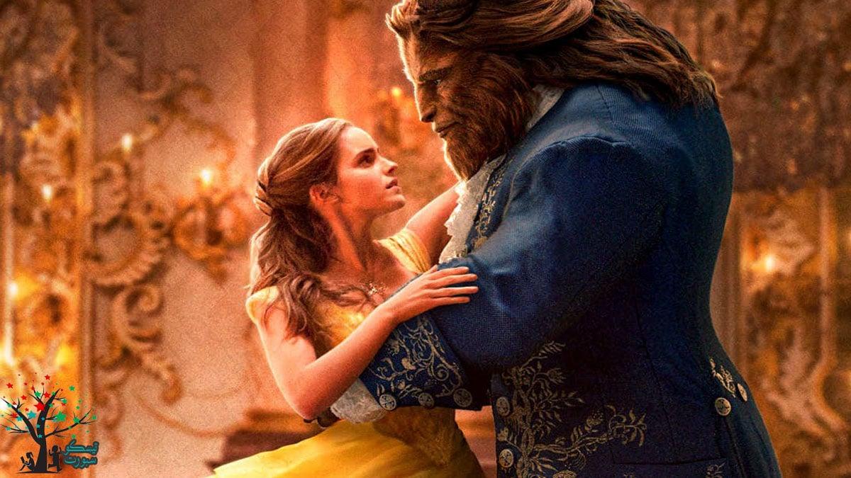 Beauty and the Beast من افلام كرتون ديزني