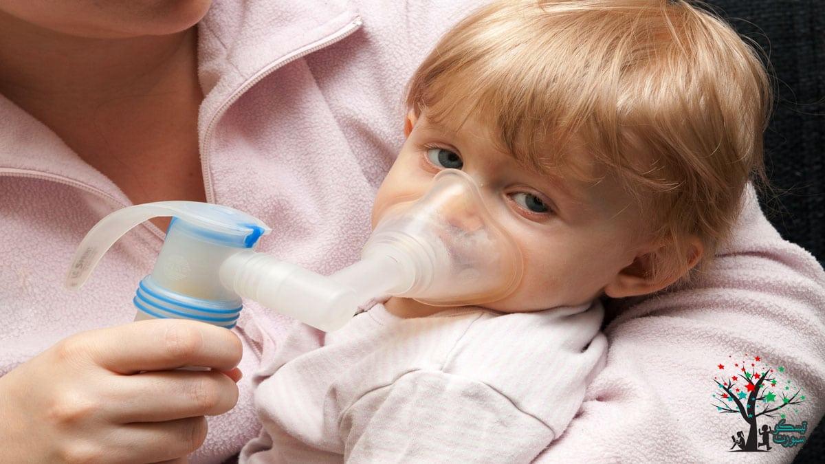 البخار وانسداد الانف عند الاطفال