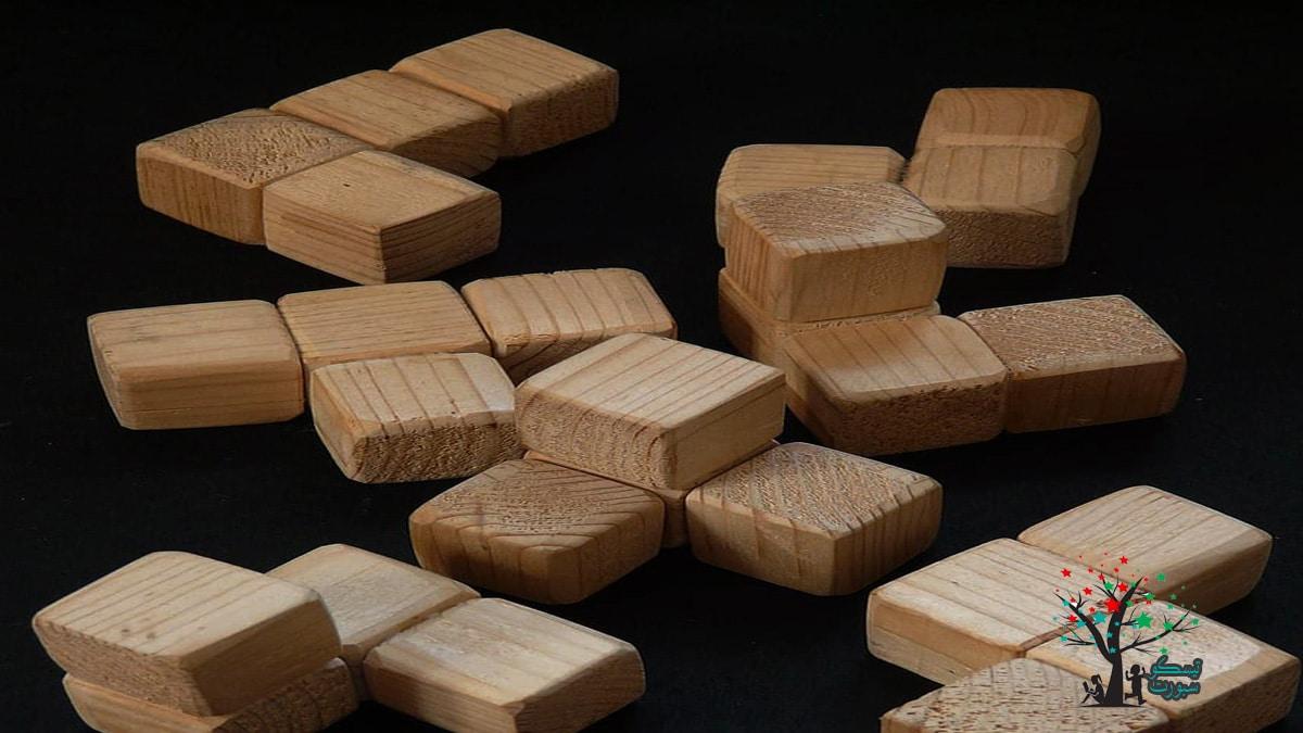لعبة اللغز بالمكعب الخشبي