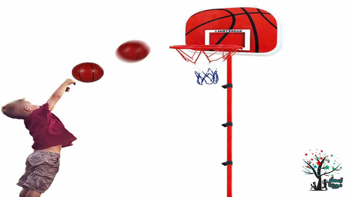 لعبة كرة السلة للأطفال